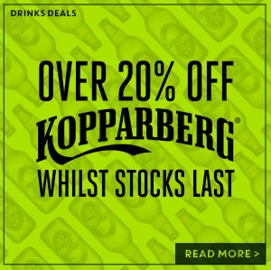 Over 20% off Kopparberg at The Folly