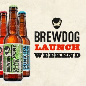 Brewdog launches Friday 14th April