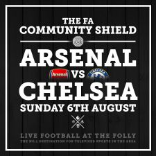Watch The Community Shield LIVE at The Folly